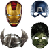 avengers paper masks child package includes