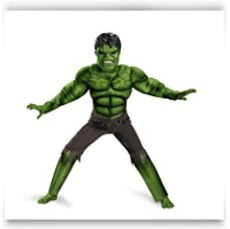 On SaleBoys Hulk Avengers Muscle Light Up Costume