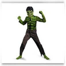 Hulk Avengers Basic Child Costume Small