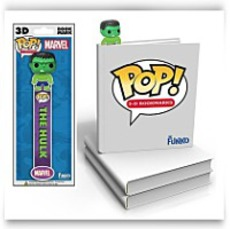 Marvel Hulk 3D Bookmark