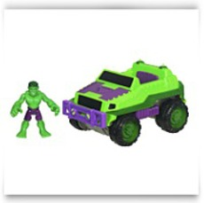 Marvel Super Hero Adventures Heroes 4X4