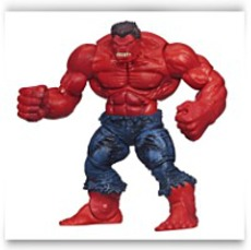 Marvel Universe Red Hulk Figure 3 75