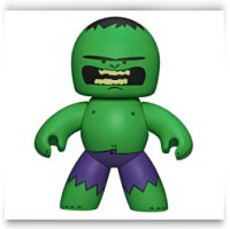 Mighty Muggs Series 2 Figure Hulk