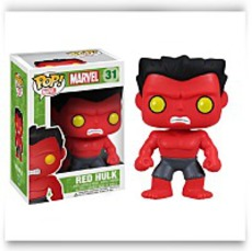 Pop Marvel Red Hulk Action Figure