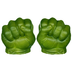 marvel avengers gamma green smash fists