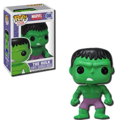 Pop Marvel Series 1 Pop Hulk Vinyl Bobble