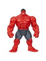 Mighty Battlers Red Hulk Rage Figure